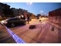 Mendil satan engelli vatandaşa otomobil çarptı: 1 ölü