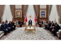 Cumhurbaşkanı Erdoğan TOBB heyetini ağırladı