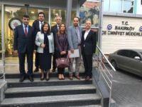 Tülay Kaynarca'dan Bakırköy Emniyet Müdürü Çetiner'e ziyaret