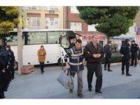 FETÖ operasyonunda gözaltına alınan 12 polis adliyeye sevk edildi