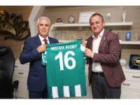 Bozbey'den Yeşil Bursa Spor Kulübü'ne destek
