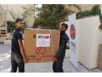 Ürdün'de Filistinli mültecilere tıbbi ekipman desteği