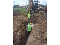 Değnekler Mahallesi yeni kanalizasyon hattına kavuştu