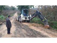 Akçakoca'nın köylerinde içme suyu çalışması sürüyor