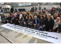 HDP İstanbul İl Örgütü'nden Gültan Kışanak'ın gözaltına alınmasına protesto