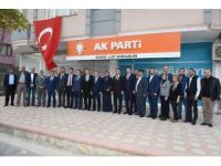 Başkan Uğur'dan AK Parti teşkilatlarına ziyaret