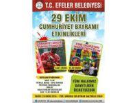 Efeler'de Cumhuriyet Bayramı coşkusu yaşanacak