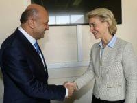 Bakan Işık, Alman Savunma Bakanı Leyen ile görüştü