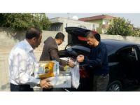 Silopi'de 6 çocuklu engelli kadına İHH'dan yardım