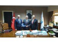 Başkan Şahin Bafra için Ankara'da