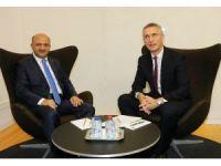 Milli Savunma Bakanı Fikri Işık, NATO Genel Sekreteri Stoltenberg ile görüştü