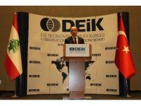 """""""Lübnan'daki İş Birliği Fırsatları"""" toplantısı"""