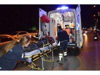 Manisa'da Trafik Kazası: 1 Yaralı