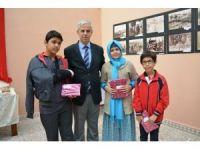 Söke Hacı Halil Paşa Halk Kütüphanesi'nde ödül töreni