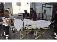 Seydişehir'de otomobil devrildi: 3 yaralı