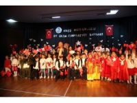 Kreş öğrencilerinden 29 Ekim Cumhuriyet Bayramı coşkusu