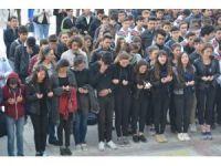 Atletizm şampiyonu genç kıza okulunda hüzünlü tören