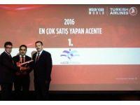 """THY'den Hisar Turizm'e """"Liderlik"""" Ödülü"""