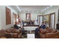 Organize Sanayi Bölgesi Müdürü Yıldırım'dan Başkan Yalçın'a ziyaret