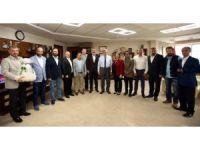 Başkan Karaosmanoğlu, KASKF yönetimini ağırladı