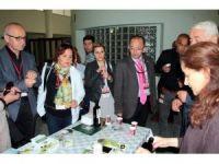 Cemiyet başkanı gazetecilere Aydın tanıtıldı