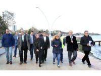 Başkan Karaosmanoğlu, Dereköy Sahilinde inceleme yaptı