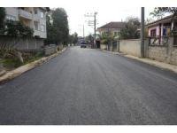 Nuri Özkasap asfaltlandı