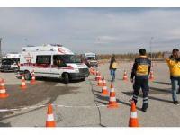Erzurum'da ambulans şoförlerine ASTE eğitimi verildi