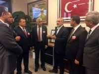 GMİS yönetimi Cumhurbaşkanı Başdanışmanı Topçu'yu ziyaret etti