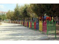 Parklar ferforjeler ile renklendi