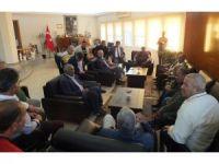 Romanlardan Başkan Atabay'a ziyaret