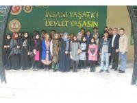Şeyh Edebali Türbesi ve Osmanlı Padişahları Tarih Şeridi'ne ziyaretler devam ediyor