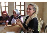 Yeliz Yeşilmen Kapadokya'da mantı açtı