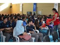 """Yüreğir Gençlik Merkezi tarafından öğrencilere """"Vatan ve Bayrak Sevgisi"""" etkinliği"""