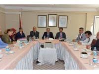 İl Milli Eğitim Müdürlüğü 2015-2016 eğitim öğretim yılı komisyon toplantısı düzenledi