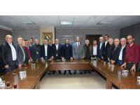 Başkan Doğan, Türkiye Muhtarlar Derneği başkanı ve yönetimini ağırladı