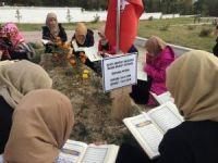 Sivas'ta hafız adaylarından 'şehide vefa' etkinliği