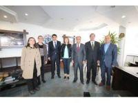 Yüksekokul Müdürü Prof. Dr. Zengin'den Özaltun'a ziyaret