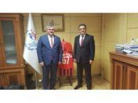 Çaturoğlu, Gençlik ve Spor Bakanlığı ve PTT Genel Müdürlüğü'nü ziyaret etti