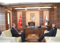 Karacan'dan İl Emniyet Müdürü Şahin'e ziyaret