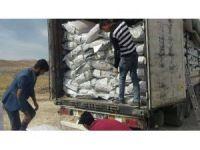 Başkale'de 21 ton kaçak çay ele geçirildi