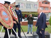 Marmaraereğlisi'nde 29 Ekim Cumhuriyet Bayramı Çelenk Sunma töreni