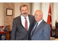 Adana'ya tayin olan Emniyet Müdüründen veda ziyaretleri