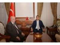 Özbay'dan Vali Toprak'a veda ziyareti
