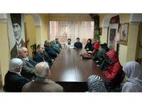 Yurt öğrencileri şehit ailelerini ziyaret etti
