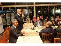 Başkan Karaosmanoğlu ve Köşker, Gebzeli hacıları ağırladı