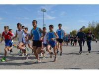 Atletler Cumhuriyet'e koştu