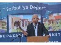 Torbalı'da 512 metrekarelik sosyal marketin temeli atıldı