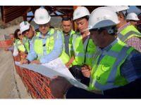 DSİ Genel Müdürü Acu, Gökçeler Baraj inşaatını inceledi