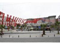 Tekkeköy bayraklara büründü